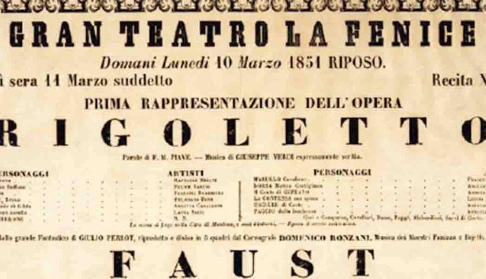 affiche de Rigoletto